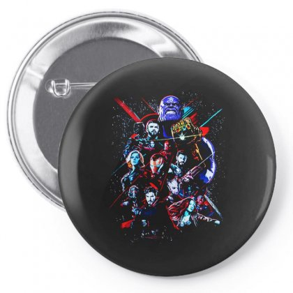 Avengers Pin-back Button Designed By Alan
