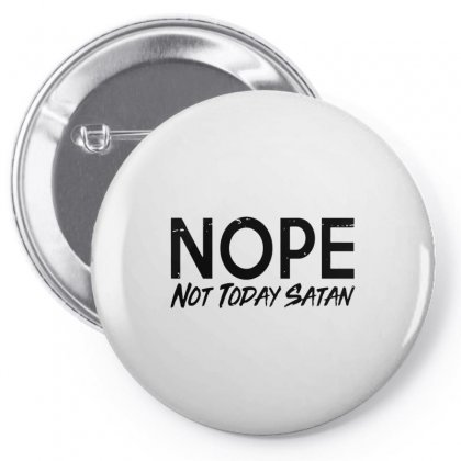 Nope Pin-back Button Designed By Alan