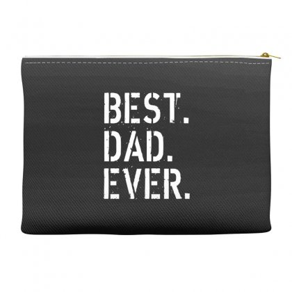 Best. Dad. Ever Accessory Pouches Designed By Alan