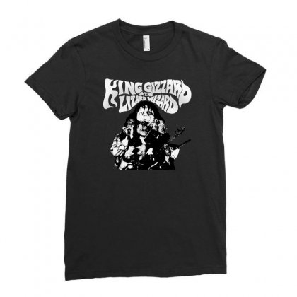 The King Gizzard Ladies Fitted T-shirt Designed By Allison Serenity