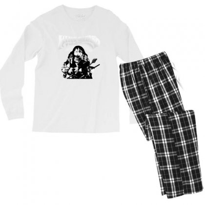 The King Gizzard Men's Long Sleeve Pajama Set Designed By Allison Serenity