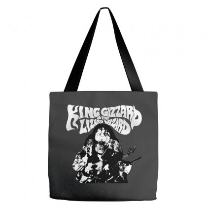 The King Gizzard Tote Bags Designed By Allison Serenity