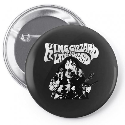 The King Gizzard Pin-back Button Designed By Allison Serenity