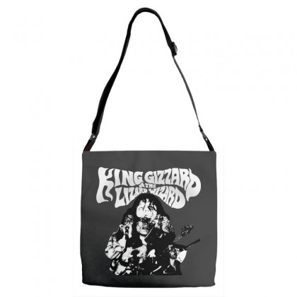 The King Gizzard Adjustable Strap Totes Designed By Allison Serenity