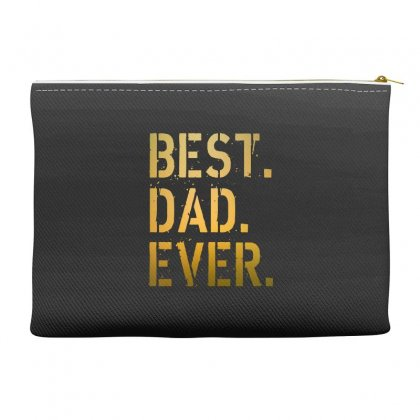 Best Dad Ever Accessory Pouches Designed By Alan