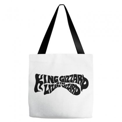 King Gizzard And The Lizard Wizard Tote Bags Designed By Allison Serenity