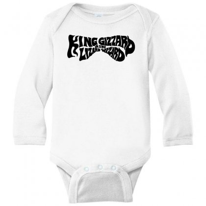 King Gizzard And The Lizard Wizard Long Sleeve Baby Bodysuit Designed By Allison Serenity