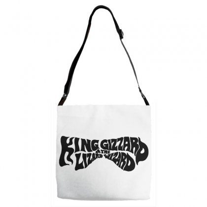 King Gizzard And The Lizard Wizard Adjustable Strap Totes Designed By Allison Serenity