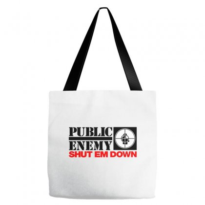 Public Enemy Tote Bags Designed By Willo