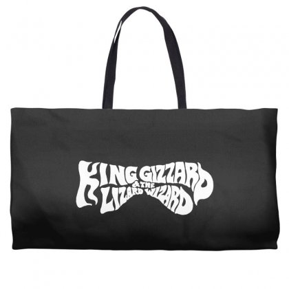 King Gizzard And The Lizard Wizard Weekender Totes Designed By Allison Serenity
