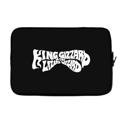 King Gizzard And The Lizard Wizard Laptop Sleeve Designed By Allison Serenity