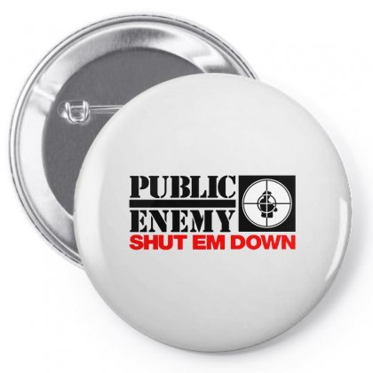 Public Enemy Pin-back Button Designed By Willo