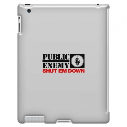 Public Enemy Ipad 3 And 4 Case Designed By Willo