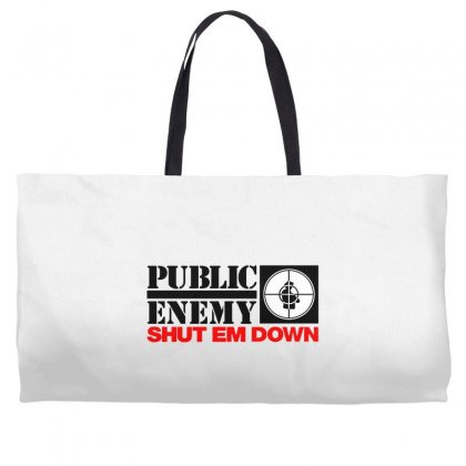 Public Enemy Weekender Totes Designed By Willo