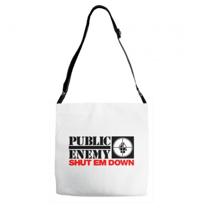 Public Enemy Adjustable Strap Totes Designed By Willo