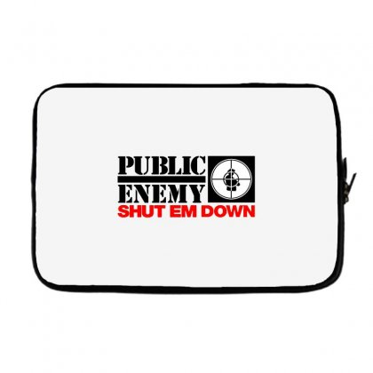 Public Enemy Laptop Sleeve Designed By Willo