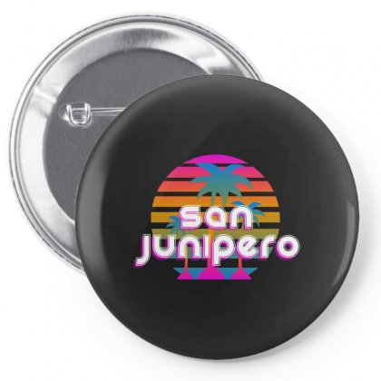 San Junipero Pin-back Button Designed By Allison Serenity