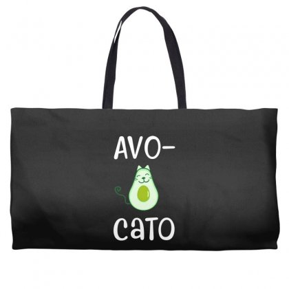 Avocato Cat Avocado Weekender Totes Designed By Alan