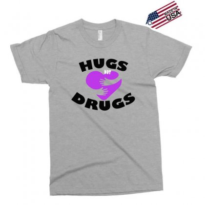 Hugs Not Drugs Exclusive T-shirt Designed By Alan