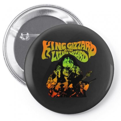 King Gizzard Pin-back Button Designed By Allison Serenity