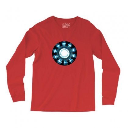 Arc Reactor   New Element Long Sleeve Shirts Designed By Willo
