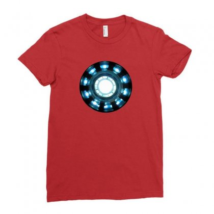 Arc Reactor   New Element Ladies Fitted T-shirt Designed By Willo