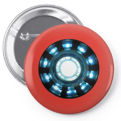 Arc Reactor   New Element Pin-back Button Designed By Willo