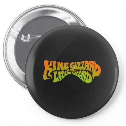 King Gizzard And The Lizard Wizard Pin-back Button Designed By Allison Serenity