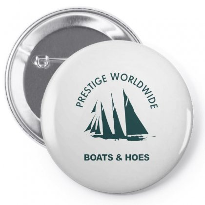 Boats N Hoes Pin-back Button Designed By Alan