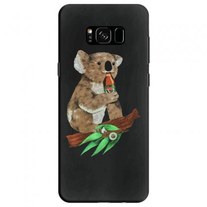 Black Koala Beers Samsung Galaxy S8 Case Designed By Alan