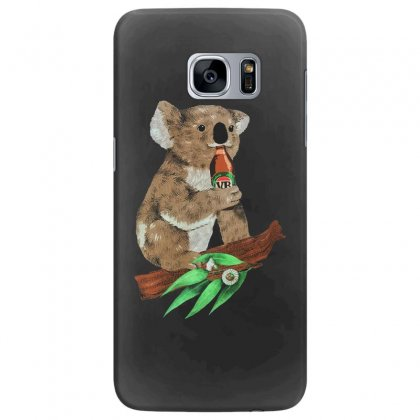 Black Koala Beers Samsung Galaxy S7 Edge Case Designed By Alan