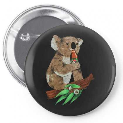 Black Koala Beers Pin-back Button Designed By Alan