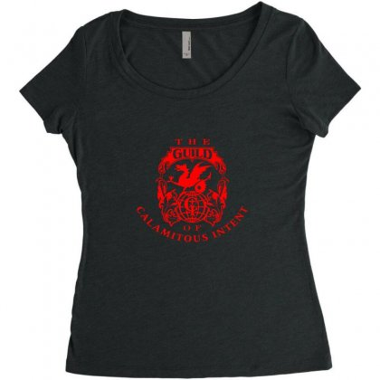 Guild Of Calamitous Intent Women's Triblend Scoop T-shirt Designed By Willo