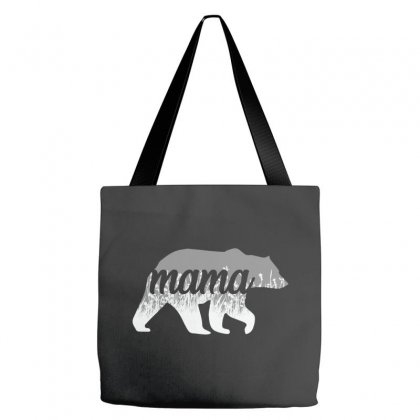 Mama Bear Floral Tote Bags Designed By Alan