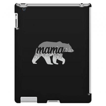 Mama Bear Floral Ipad 3 And 4 Case Designed By Alan