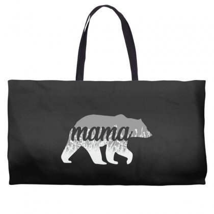 Mama Bear Floral Weekender Totes Designed By Alan