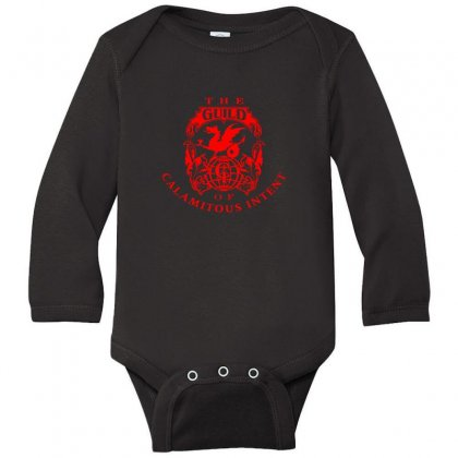 Guild Of Calamitous Intent Long Sleeve Baby Bodysuit Designed By Willo