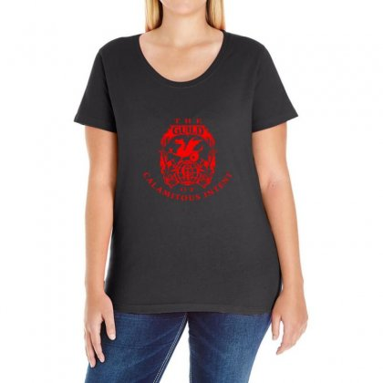 Guild Of Calamitous Intent Ladies Curvy T-shirt Designed By Willo