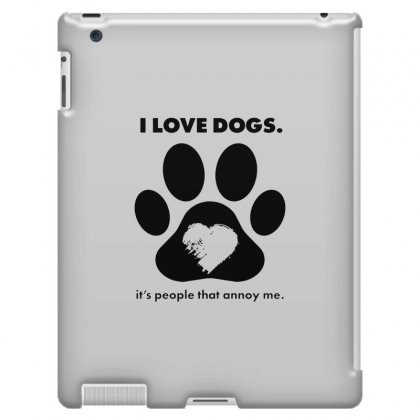 Love Dogs Hate People Ipad 3 And 4 Case Designed By Alan