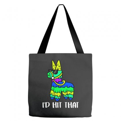 I'd Hit That Pinata Tote Bags Designed By Alan