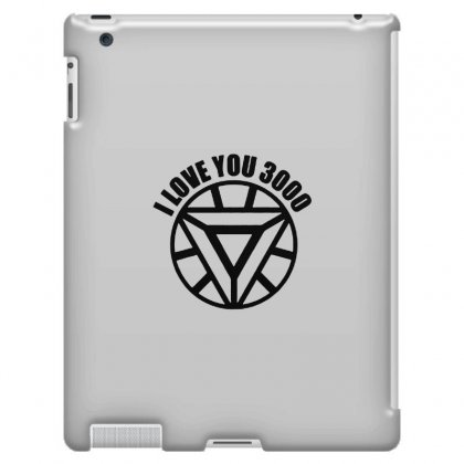 I Love You 3000 Three Thousand Times Ipad 3 And 4 Case Designed By Willo