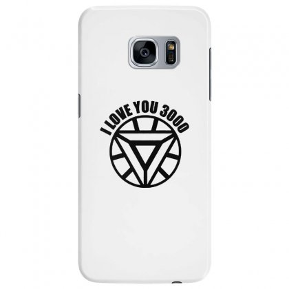 I Love You 3000 Three Thousand Times Samsung Galaxy S7 Edge Case Designed By Willo