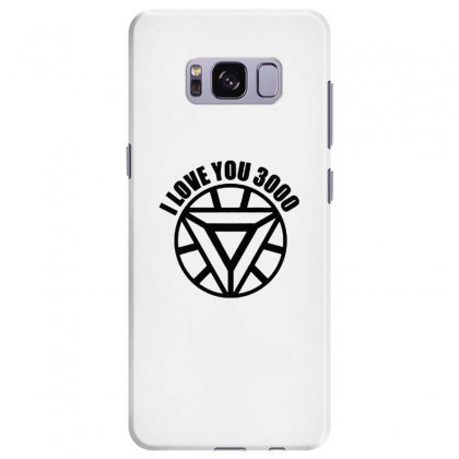 I Love You 3000 Three Thousand Times Samsung Galaxy S8 Plus Case Designed By Willo