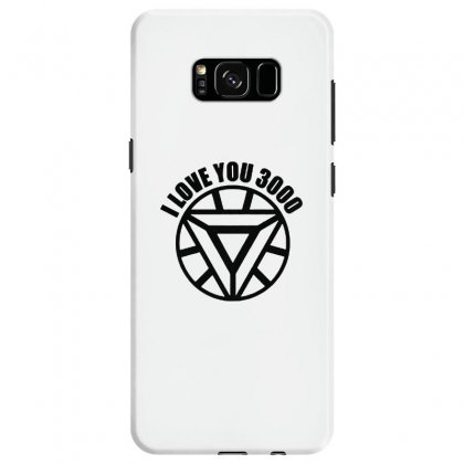 I Love You 3000 Three Thousand Times Samsung Galaxy S8 Case Designed By Willo