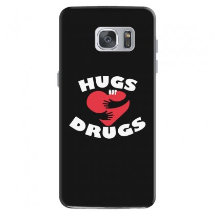Hugs Not Drugs Samsung Galaxy S7 Case Designed By Alan