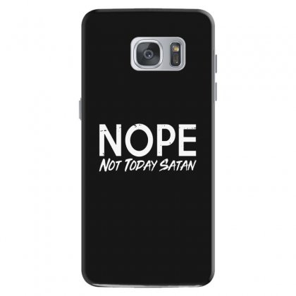 Not Today Satan Samsung Galaxy S7 Case Designed By Alan