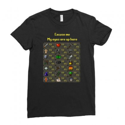 Runescape Ladies Fitted T-shirt Designed By Allison Serenity