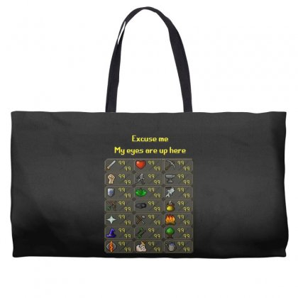 Runescape Weekender Totes Designed By Allison Serenity