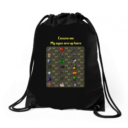 Runescape Drawstring Bags Designed By Allison Serenity