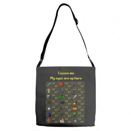 Runescape Adjustable Strap Totes Designed By Allison Serenity